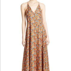 Rebecca Taylor Moonlight Floral Silk Dress